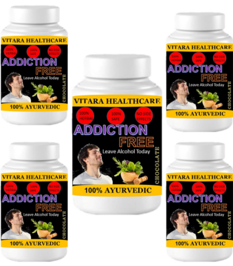 addiction free (Pack of 5)