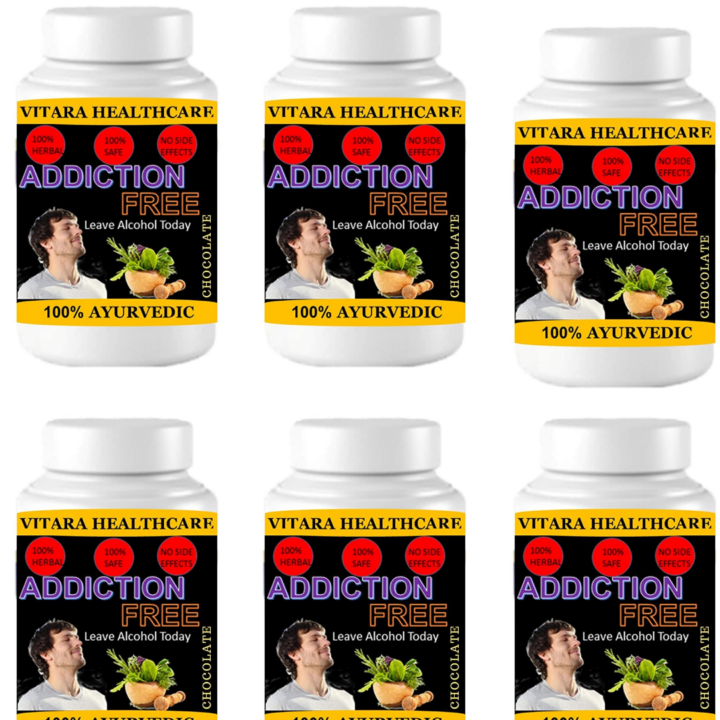 addiction free (Pack of 6)